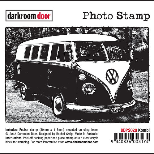 "Darkroom Door - ""Kombi"" Photo Rubber Stamp"