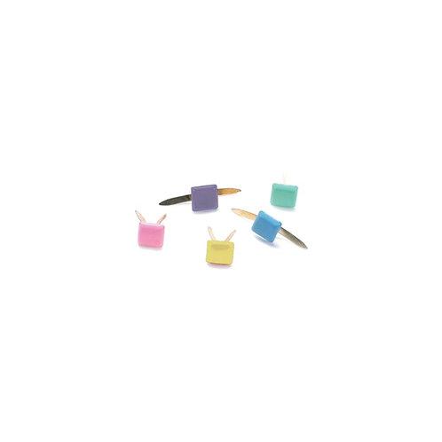 Creative Impressions Mini Metal Paper Fasteners 3mm 100/Pkg
