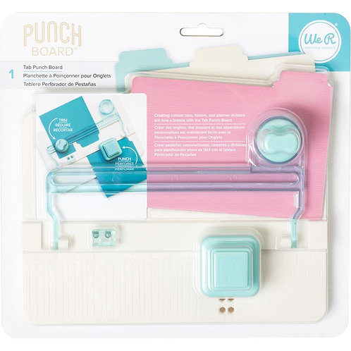 We R Memory Keepers Tab Punch Board