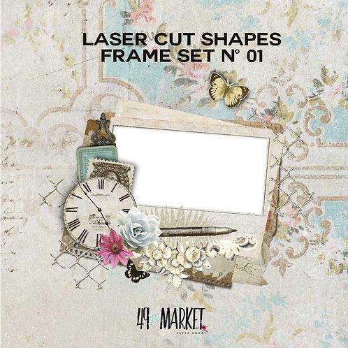 49 Market Laser Cut Shape Embelishment's