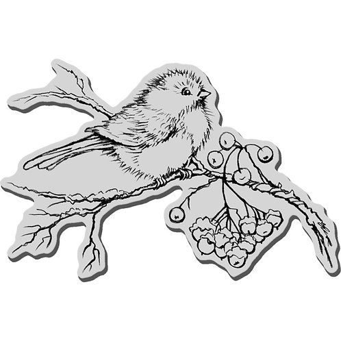 """""""Snow Bird""""  Stampendous Cling Mount Rubber Stamps"""