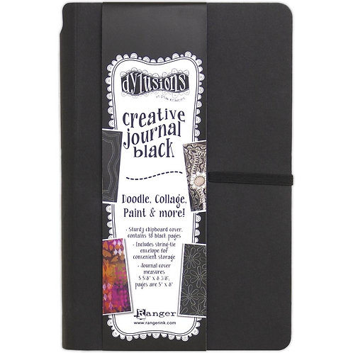 Dyan Reaveley's Dylusions Black Journal 5.625x8.375 inch