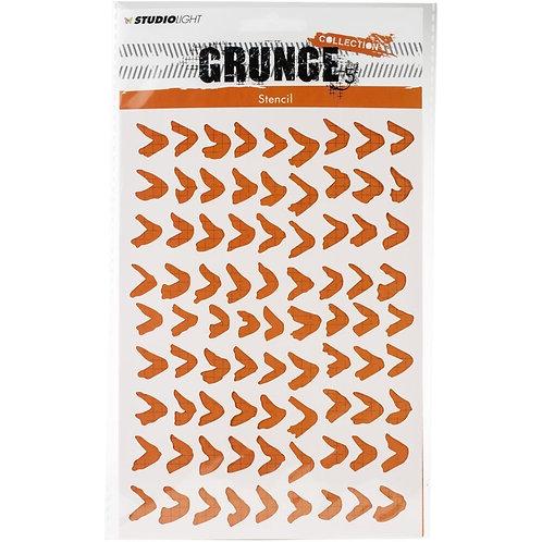 "Studio Light Grunge Collection A5 Stencil ""V's"""