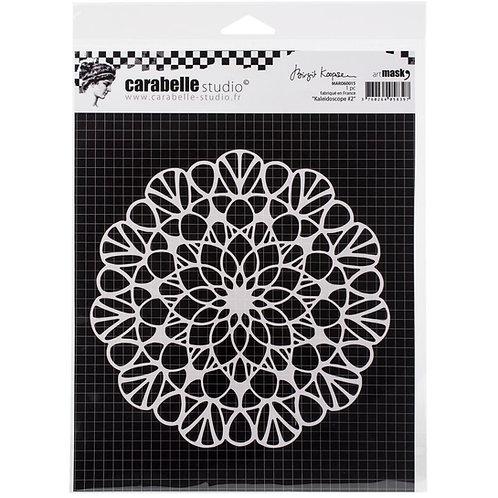 """Carabelle Studio Mask 6""""x 6"""" """"Kaleidoscope #2"""""""