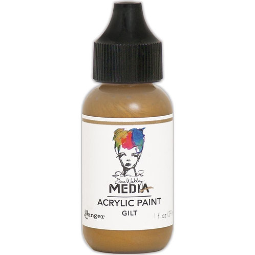 "Wakley Media Acrylic Paint 1oz ""Gilt"""