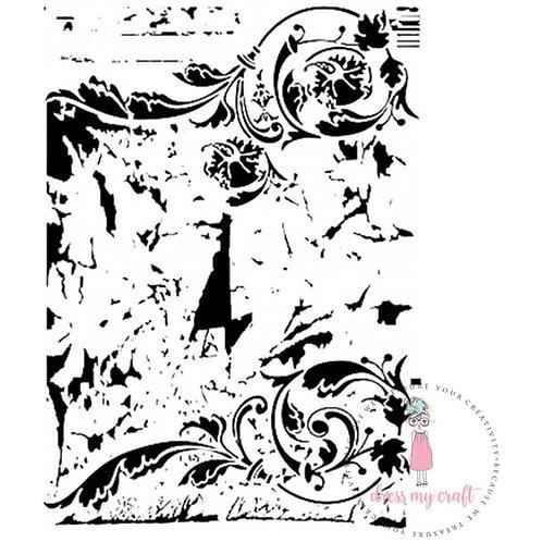 "Dress My Craft Stencils A4 ""Swirls"""