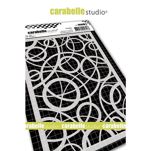 Carabelle Studio Mask A6 Circles Pattern