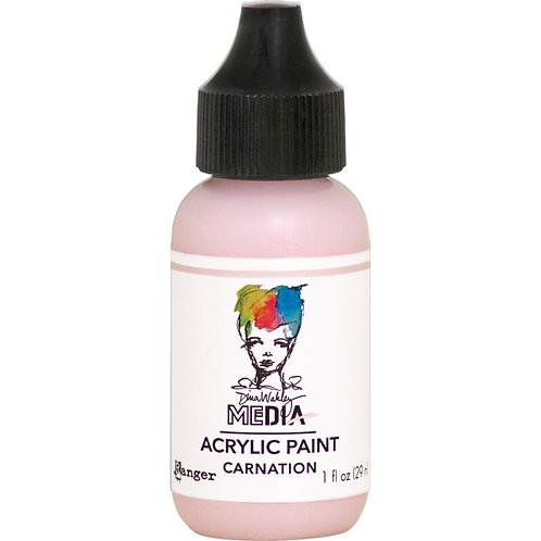 "Wakley Media Acrylic Paint 1oz ""Carnation"""