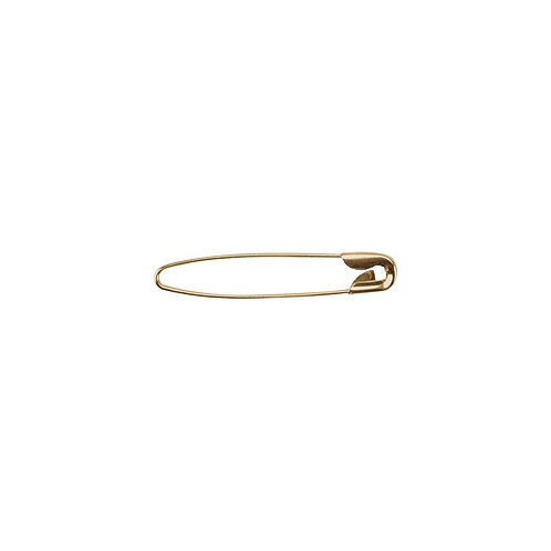 Coilless Safety Pin - Gold - 1-1/2 Inches - 25 Pieces - Big Value