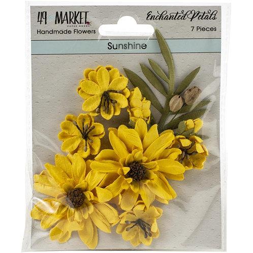 "49 Market Enchanted Petals 7 pcs ""Sunshine"""