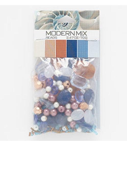 Bead & Seed Bead Mix Acrylic & glass mixed shapes