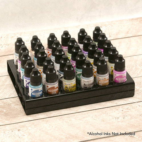 Couture Creations Alcohol Ink Bottle Holder (Holds 30 Bottles)