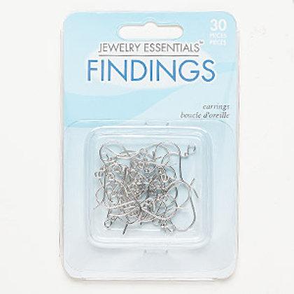 Earring Hooks 16mm - 15 pair