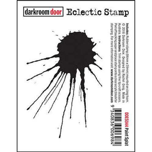 """Darkroom Door - """"Splat"""" Rubber Stamp"""