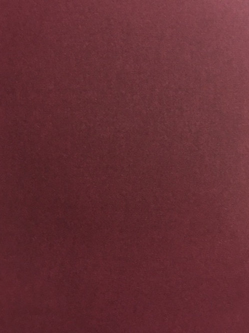 A5 Burgundy Smooth A5 Card 250gsm 20 pack​​​​​​​
