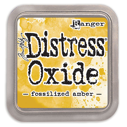 """Distress Oxides - """"Fossilized Amber"""" by Ranger"""
