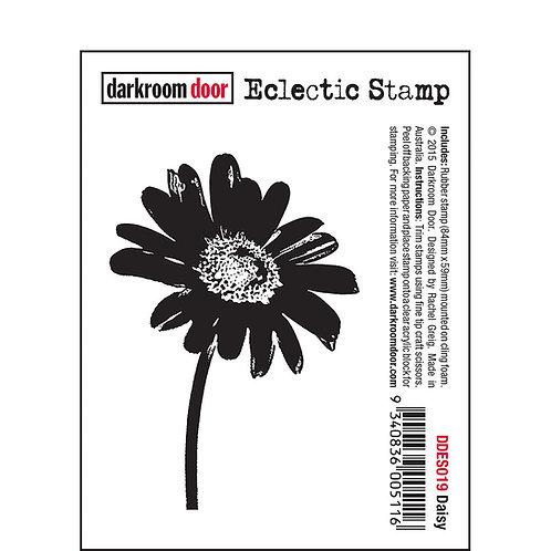 Daisy -Darkroom Door Eclectic Rubber Stamp