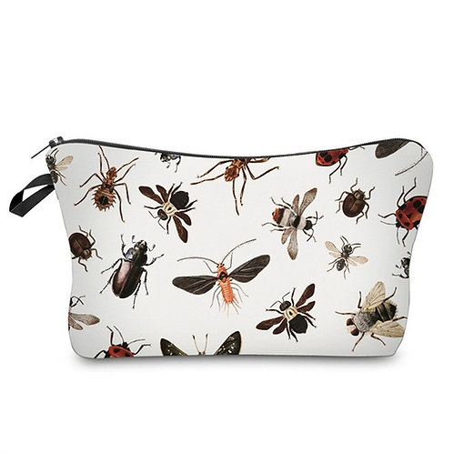"""Bugs"" Zipper Top 8.65""X5.35"" Art Accessory Bag"