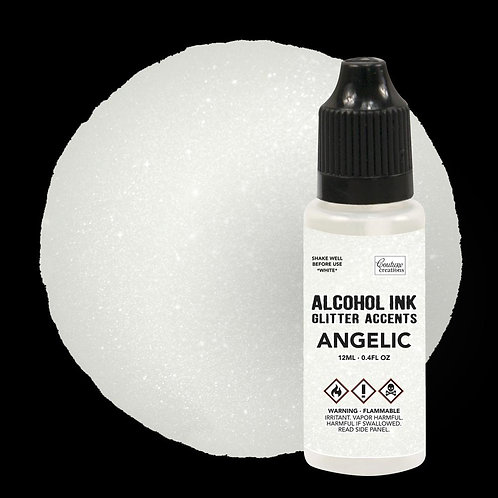 """""""Angelic""""  Couture Creations Alcohol Ink Glitter Accents 12ml"""