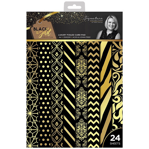 Luxury Foiled Card Pad A4