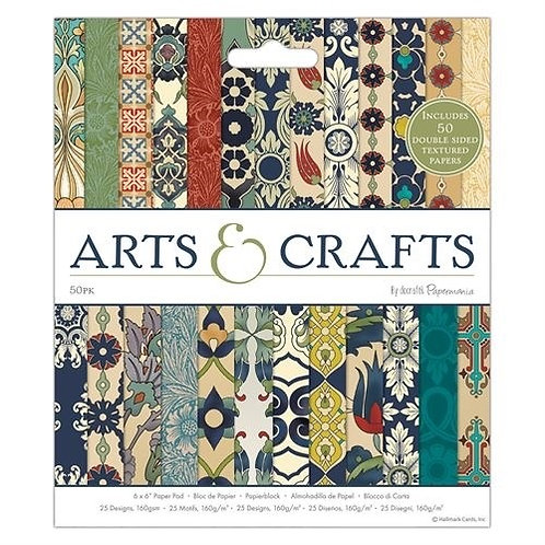 "6 x 6"" Paper Pad (50pk) - Arts & Crafts"
