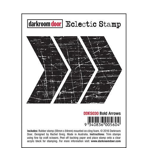 Bold Arrows -Darkroom Door Eclectic Rubber Stamp