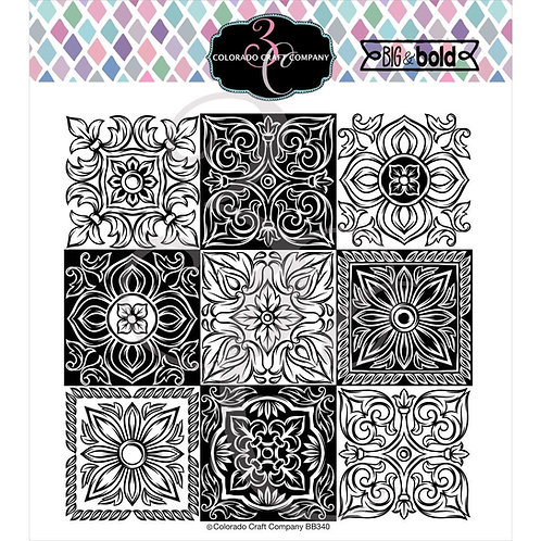"""Colorado Craft Company Clear Stamps 6""""X6"""""""