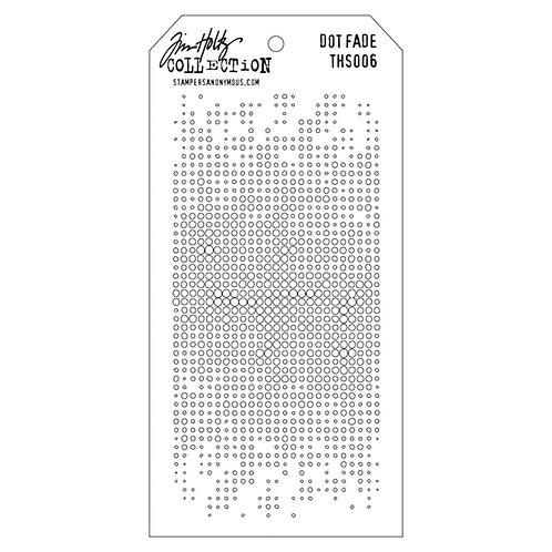 "Tim Holtz Layering Stencil ""Dot Fade"""