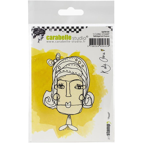 """Carabelle Studio Cling Stamp  """"Pearl"""""""