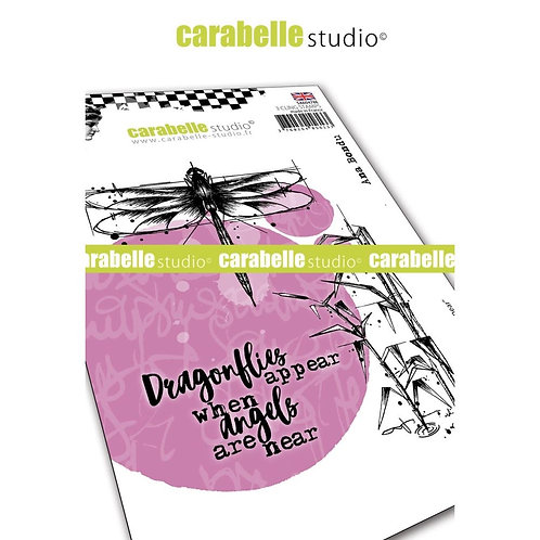 "Carabelle Studio Cling Stamp A6 ""Angels Are Near"""