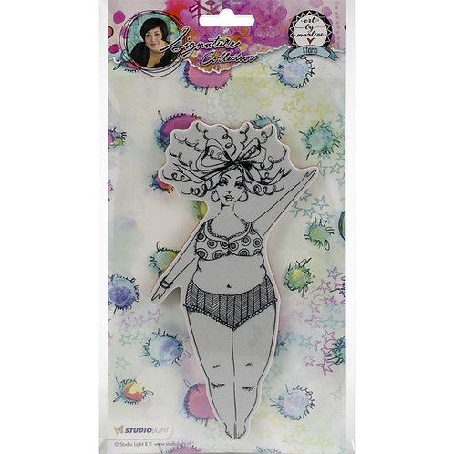 Art By Marlene Chubby Chicks Cling Stamp