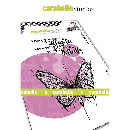 """Carabelle Studio Cling Stamp A6 """"Spread Your Wings"""""""