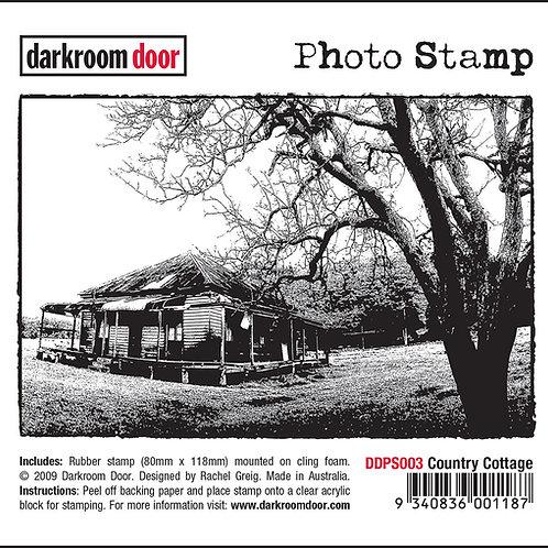 """Darkroom Door - """"Country Cottage"""" Photo Rubber Stamp"""