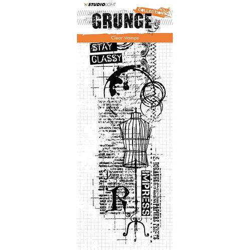 "Studio Light Grunge Collection Stamp  10 1/2 x 3 1/2 """
