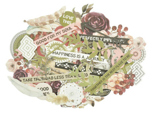 """Kaisercraft Die Cut Shapes - Collectables """"Gypsy Rose"""""""