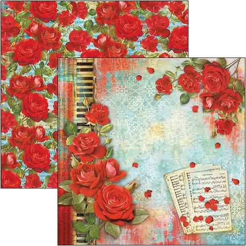 """La Vida Es Un Tango Ciao bella  Double-Sided Cardstock 12""""X12"""""""