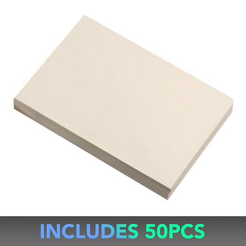 "Couture Creations 5"" x 7"" Cream Envelope  (50 pk)"