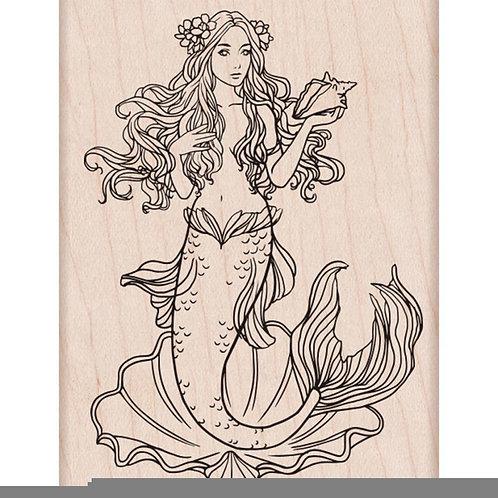 "Hero Arts Mounted Rubber Stamp 4""X2.875"" ""Mermaid"""