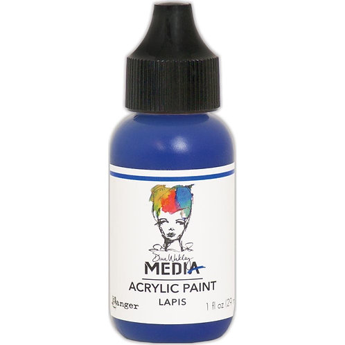 "Dina Wakley Media Acrylic Paint 1oz ""Lapis"""