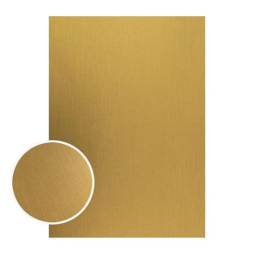 Mirror Foil Board - A4 Matte gold lines (10pc - 210gsm)