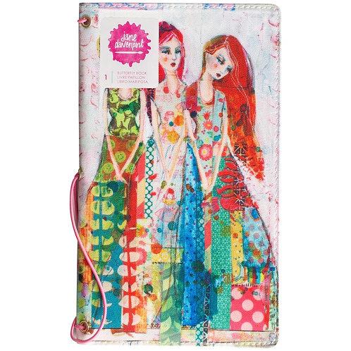 """Jayne Davenport - Butterfly Journal Book"""""""