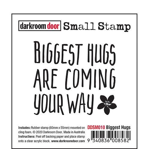 """Darkroom Door Small Stamps - """"Biggest Hugs"""""""