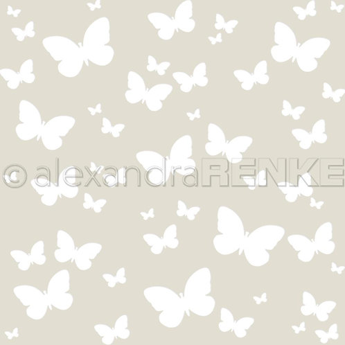 """Alexandra Renke Stencil 6""""X6"""""""