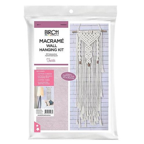 "Macrame Plant Hanger Kit ""Twists"""