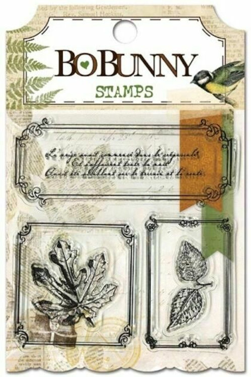 """BoBunny Clear Stamps 4""""X6"""" """"Trail Mix"""""""