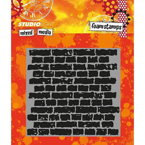 #07 Studio Light Mixed Media Foam Stamps