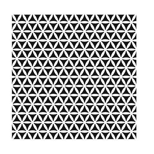 """TCW - 6x6 Stencil -   """"Mini Kaleidoscope"""""""