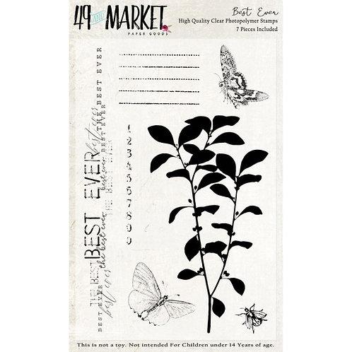 """49 Market Stamps - """"Best Ever"""""""