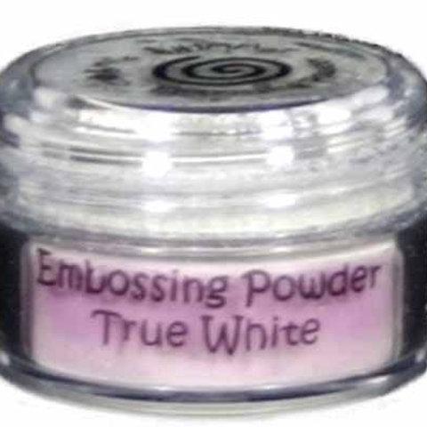 Cosmic Shimmer Embossing Powder True White