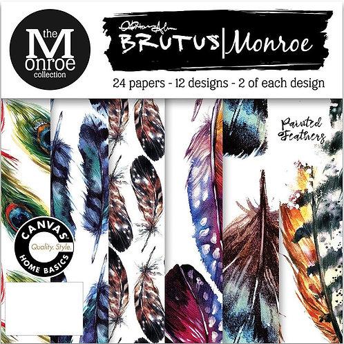 """Brutus Monroe Single-Sided Paper Pad 6""""X6"""" 24/Pkg"""